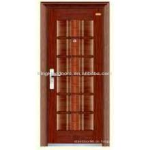 Wettbewerbsfähigen und qualitativ hochwertigen Stahl äußere Tür/Stahl Sicherheit Tür KKD-203 aus China-Hersteller