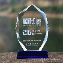 Хрусталя Медаль Стеклянный Трофей Награду