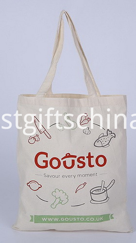 Promotional Canvas Cotton Tote Bags - Silkscreen Printed LOGO