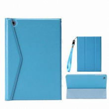 Magnetic Suction Leather Briefcase for iPad 3/iPad 4, Good-quality, OEM Orders are Welcome