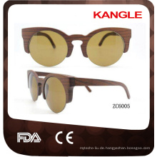 Großhandelsroman-Entwurfs-billige hölzerne Sonnenbrille