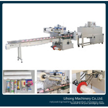High Speed Automatic Flowpack Shrink Packaging Machine