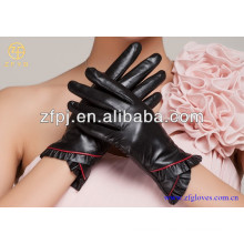 2016 guantes de lujo elegantes vendedores calientes de la señora