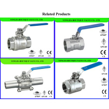 2PCS Forged Ball Valve