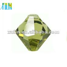 6mm Glas Bicone Perlen mit einem Loch auf der Oberseite 6301 #