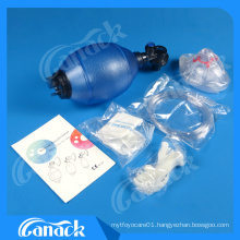 Ce Approved High Quality PVC Manual Resuscitator
