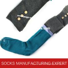 100% coton de chaussette de tube de Coloful de femme (UBM1048)