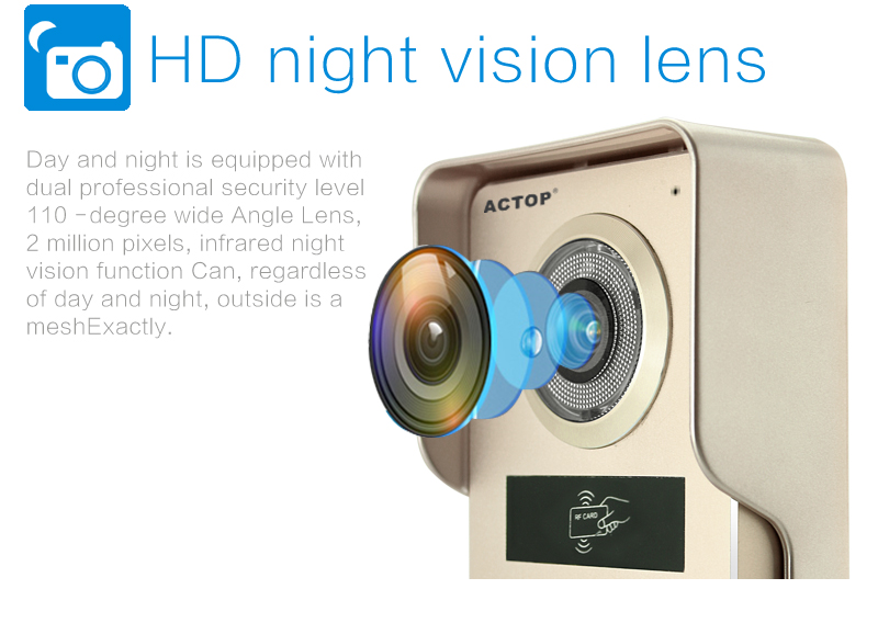 doorbell wifi night vision