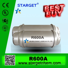 High purity REFRIGERANT GAS R600a with good price