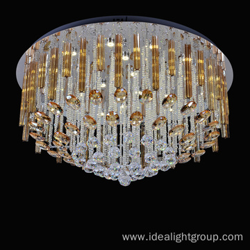 high led light chandelier luxury crystal ceiling light