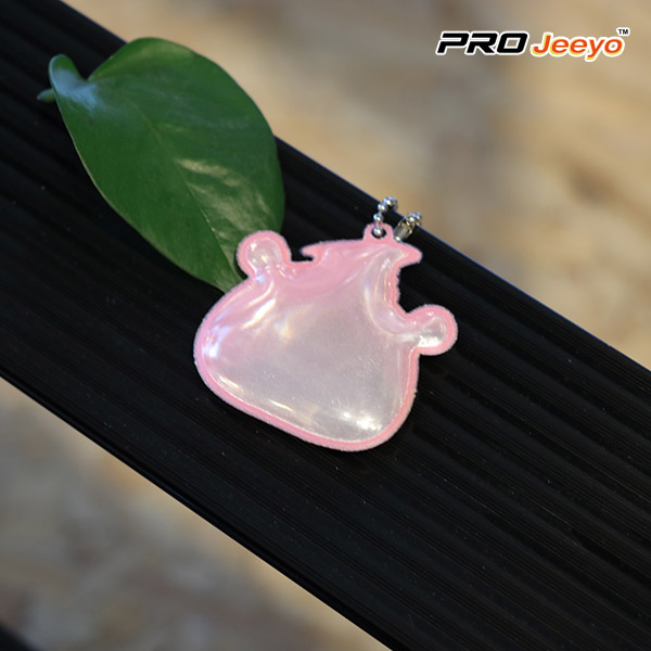 Safety Pig Shape Keychain Kids Pendant