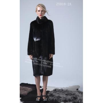 Reversible Wanita Kopenhagen Mink Coat Long