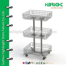 heavy duty metal display stand