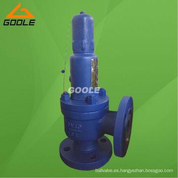 Válvula de seguridad de alta presión tipo elevación baja cargada por resorte (GA41Y)