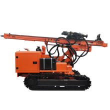 Raupen-Hydraulik-Helix-Bodenschrauber