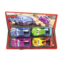 Venda quente de plástico dos desenhos animados puxar para trás carro (10216929)