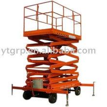 wheels hydraulic mobile working platform