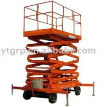 plataforma de trabalho móvel hidráulica das rodas