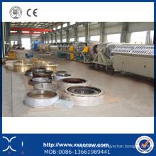 Línea de producción de extrusión de plomo de manguera PE