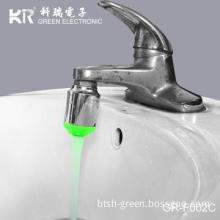 beautiful water flowing colorful led faucet light led tap faucet lamp