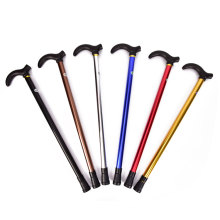 Telescopic Aluminium Body Climbing Equipment Blind Rubber Hiking Walking Sticks