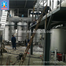 150 tpd Uzbekistan project crude Sunflower oil refining machine for sale