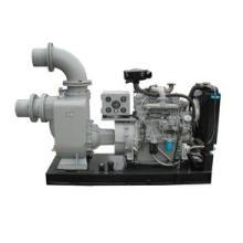 Bomba de agua de aguas residuales autocebante motor disel