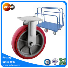 200 mm Rigid Dolly Wheel PU
