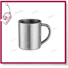 300ml 11oz Sliver Sublimation Mug en acier inoxydable avec poignée C