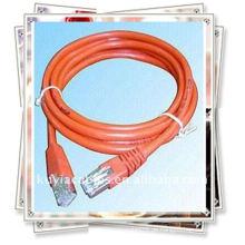Premium Lan Kabel Red Patch Kabel für Netz arbeiten