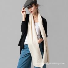 modern stylish 100% cashmere silk twill scarf for 2017 spring