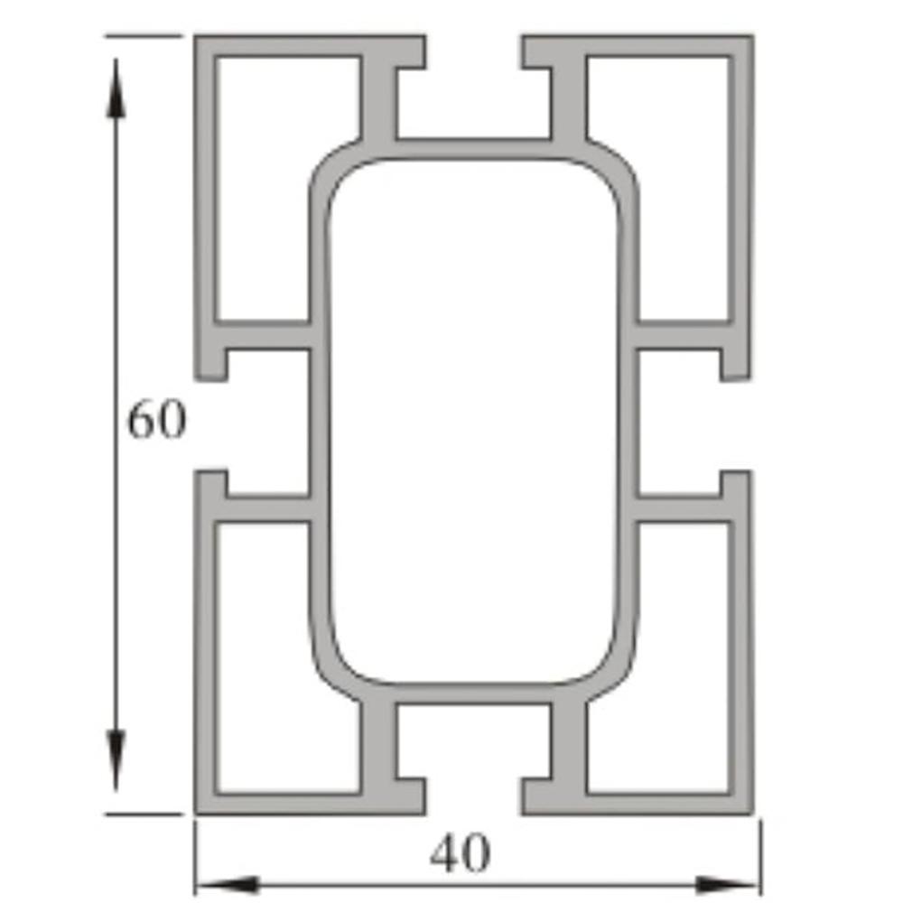 4060 aluminum extrusion profile