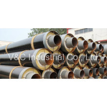 Steel Wrapped Steel Insulating Pipe