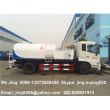 2015 New 4x2 Tianjin 8.5 m3 alta pressão jato caminhão com água Spray