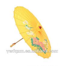 hotselling chinois en bois marché parapluie pour la décoration