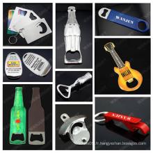 Porte-clés porte-bouteille de guitare