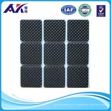 9PCS antideslizante piso protectores de muebles almohadillas pierna silla mesa estera adhesiva