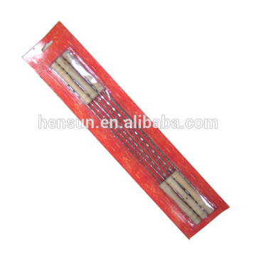 6 Unids Al Por Mayor Eco-amigable Pincho BBQ Stick