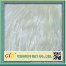 Couvercle de fourrure en fausse épaisseur 100% polyester haute qualité