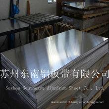 Chapas de alumínio laminadas 1000series