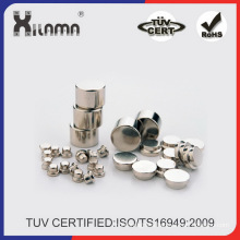 Small Round NdFeB Disc Magnet of Different Sizes