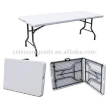 Прямоугольный пластичный складной столик table ПЭНД