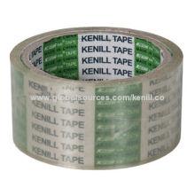 Super Clear Silent BOPP Packaging Tape for Carton Sealing, High-transparency Polypropylene Film