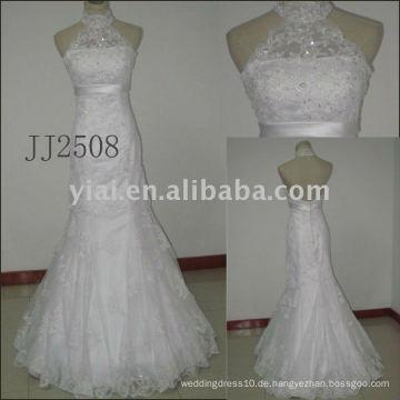 JJ2507 neue Ankunft wulstige A-line Spitze-Hochzeitskleider 2011
