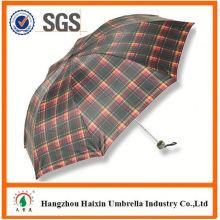 Dernière poignée usine gros Parasol impression Logo pliage parapluie