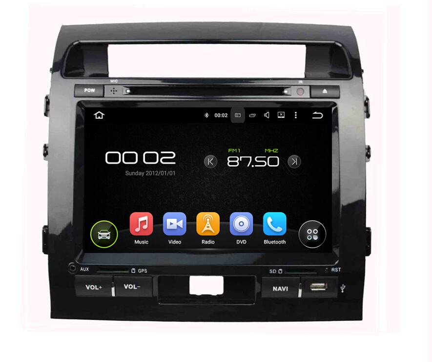 Toyata Land Cruiser 2008-2012 car dvd player