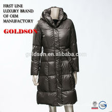 Ultralight women winter down jacket clothing brand