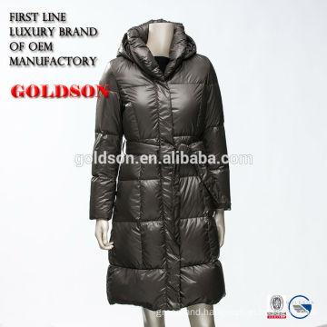 Ultralight women winter down jacket clothing brand