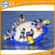 Water games inflatable semi boat inflatable disco boat
