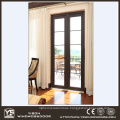 Double Tempered Lowe Glass Aluminum French Door